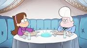 S1E4 Mabel und Gideon auf ihrem Date