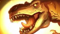 S1e18 t-rex amber