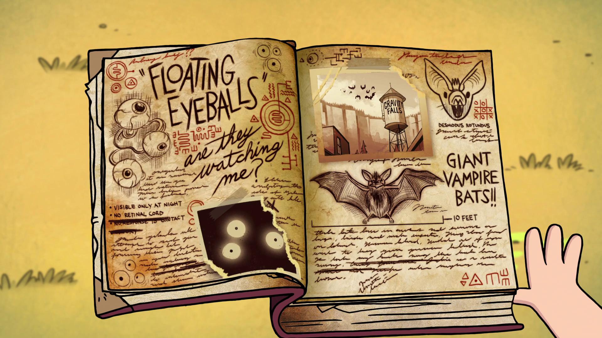 Gravity Falls Book 3