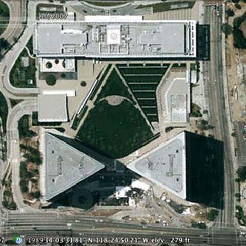 Спутниковый снимок шестой локации.
