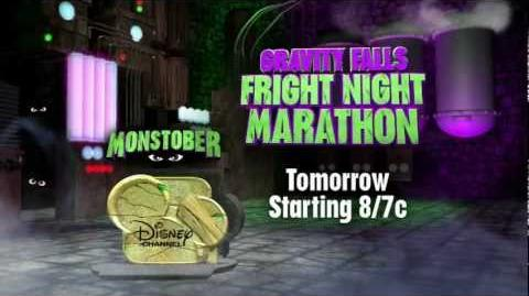Gravity Falls - Fright Night Marathon