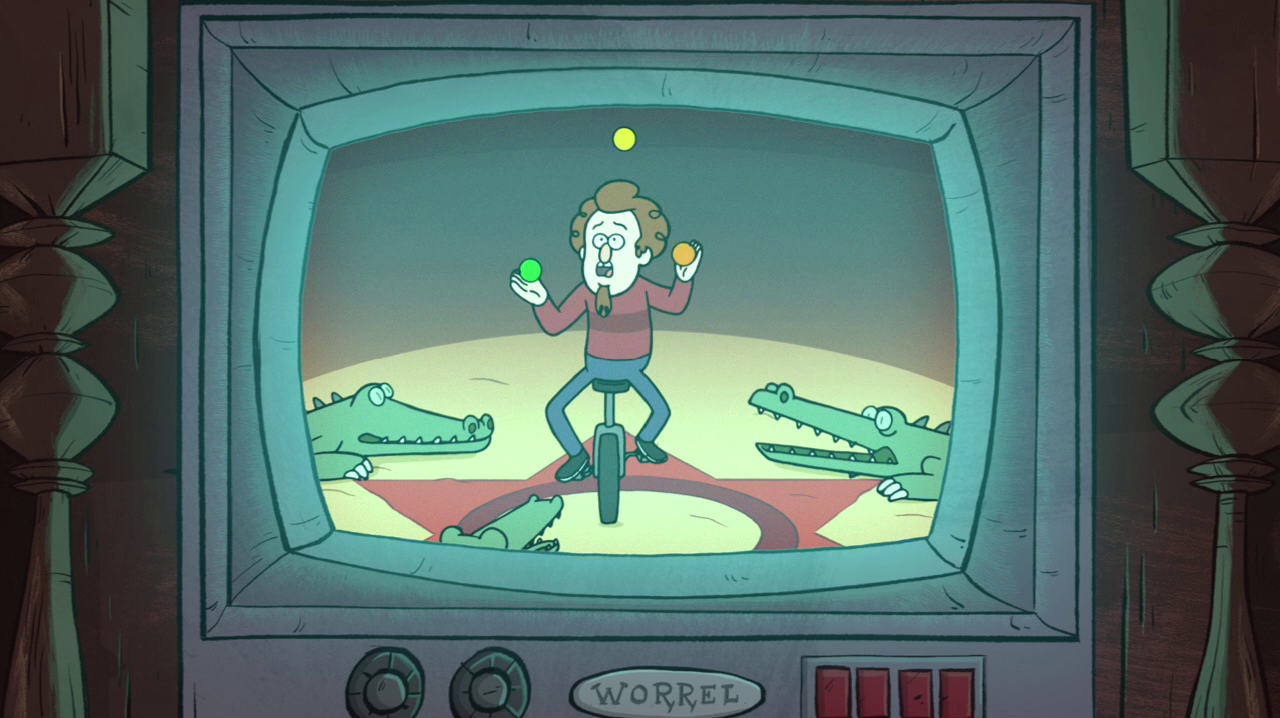 Alex Hirsch In Gravity Falls