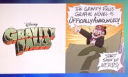 Novela grafica de gravity falls anunciada