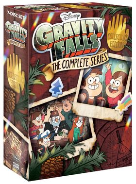 GRAVITY FALLS THE COMPLETE SERIES BOX SET