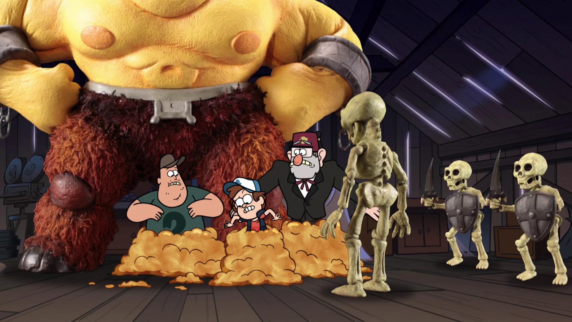 Gravity Falls Mabel Pines Pet Tentacle Monster Waddles
