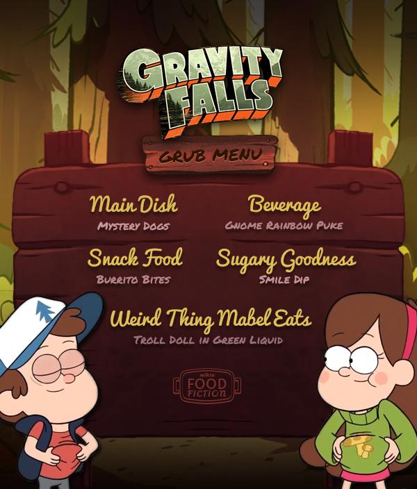 W-FF MENU Gravity-Falls R1