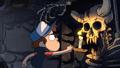 Opening dipper finds skeleton.PNG