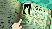 S1e5 ghosts in book
