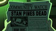 S2e11 stan pines dead