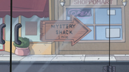 S2e8 mystery shack sign