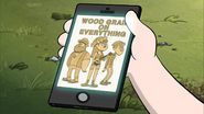 S2e9 wood grain on everything
