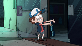 S1e5 dipper leading the way
