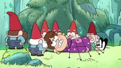 Mabel wird gefangen