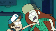 S1e5 dipper screams duck