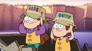 S1e2 the twins put on their fishing hats