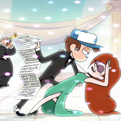 Oh my, Dipper had a growth spurt