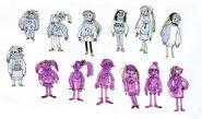 Algunos diseños de Mabel por Brigette Barrager