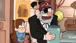 S1e13 Mabel frowning