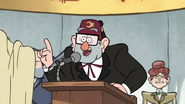 S1e3 Grunkle Stan about to talk