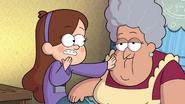 S1e20 Mabel feeling abuelita's skin