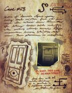 Six strange tales journal 3 doors