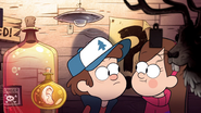 Opening mabel and dipper in shack