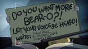 Short5 write to mabel if you want bear-o back