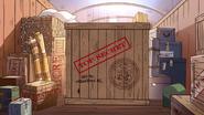 S1e8 top secret crate