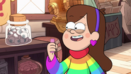 S2e9 mabel holding candies
