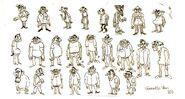 Brigette Barrager Stan sketches