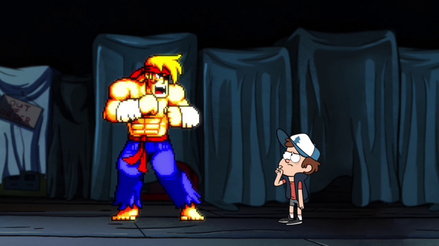 File:S1e10 dipper and rumble talking.png