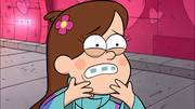S1e9 Mabel lost Waddles and now looking sad