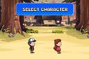 Rumble's Revenge select menu