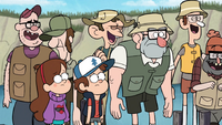 S1e2 laughing at old man mcgucket