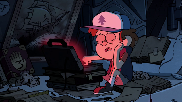 File:S2e4 dipper falls asleep on laptop.png
