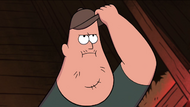 S1e1 soos touching hat