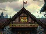 Biblioteca de Gravity Falls