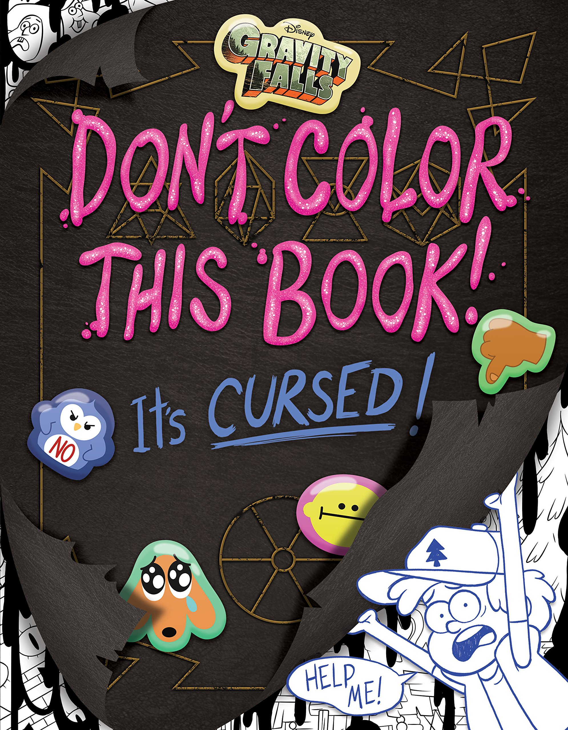 Don T Color This Book It S Cursed Gravity Falls Wiki
