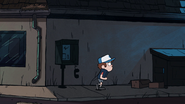 S1e5 dipper taking action