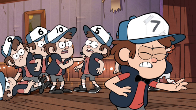 File:S1e7 dipper sneaking away.png