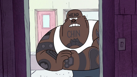 S1e14 bouncer is angry