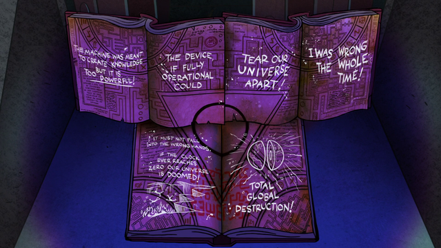 File:S2e11 all three together in blacklight.png