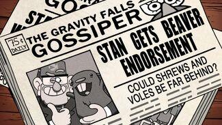 Gravity Falls Gossiper