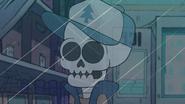 S1e5 dipper's skeleton