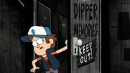 S1e19 dipper keep out