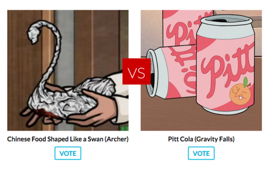 Gravity falls vs. archer
