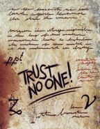Six strange tales journal 3 trust no one