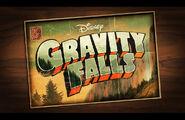 Gravity falls postcard logo
