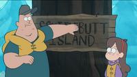 S1e2 butt island