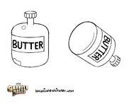 Tara Nicole Whitaker props popcorn butter